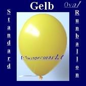 Luftballons Standard R-O 27 cm Gelb 10 Stück