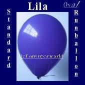 Luftballons Standard R-O 27 cm Lila 10 Stück