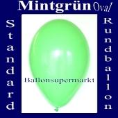 Luftballons Standard R-O 27 cm Mintgrün 10 Stück