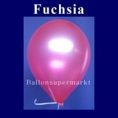 Luftballons Metallic 25 cm Fuchsia R-O 100 Stück