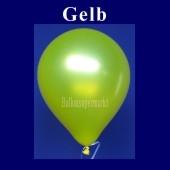 Luftballons Metallic 25 cm Gelb R-O 100 Stück
