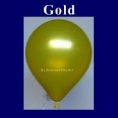 Luftballons Metallic 25 cm Gold R-O 10 Stück