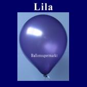 Luftballons Metallic 25 cm Lila R-O 10 Stück