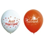 "Luftballons ""Just Married"" 100 Stück"