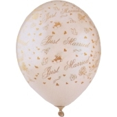 "Luftballons ""Just Married"""