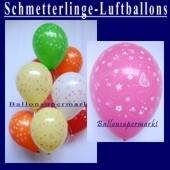 Motiv-Luftballons-Schmetterlinge