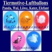 Motiv-Luftballons-Tiere