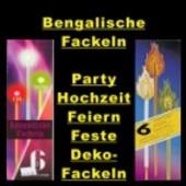 Bengalische Fackeln 6 Stück