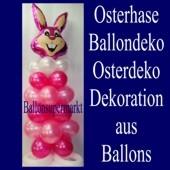 Ballondekoration-Osterhase-Osterdekoration