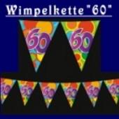 "Wimpelkette ""60"""