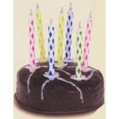Magische Wunderkerzen Geburtstagstorte