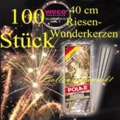 Maxi-Wunderkerzen, Riesen-Funkensprüher, 40 cm, 10 Packungen, 100 Stück