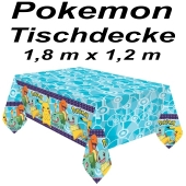 Party-Tischdecke Pokemon, 1,8 x1,2 m