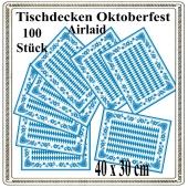 Oktoberfest Tisch-Sets, Platzdecken, bayrische Raute