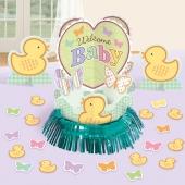 Tischdeko-Set Welcome Baby zur Babyparty und Geburt