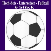 Tischdeko Untersetzer Fußball