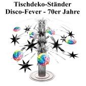 Disco Party, Mottoparty 70er Jahre, Tischdeko-Ständer, Partydekoration