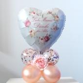Tischdekoration Liebe Mama! Danke für Alles! aus Luftballons zum Muttertag