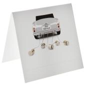 Tischkarten Hochzeit, Just Married Car, 10 Stück