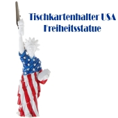 USA Tischkartenhalter, New York-Partydekoration