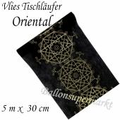 Tischläufer, Tischdecke Oriental Schwarz