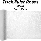 Tischläufer Roses, 3 Meter Rolle