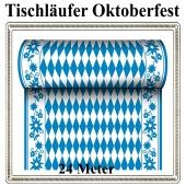 Tischläufer Oktoberfest, 24 Meter, Airlaid