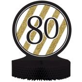 Tischständer Black and Gold 80