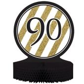 Tischständer Black & Gold 90
