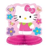 Centerpiece Hello Kitty, Tischdekoration, Tischständer zum Kindergeburtstag