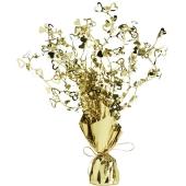 Tischdeko-Ständer mit  goldenen Herzen