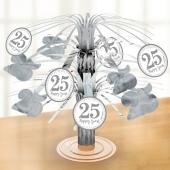 Mini-Tischständer 25 Happy Years zur Silberhochzeit