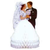 Tischständer Braut und Bräutigam