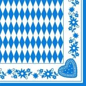 Tissue-Dekor-Serviette-Bayrisches-Muster-50-Stueck