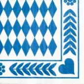 Tissue-Serviette-Oktoberfest-Bayrisches-Muster
