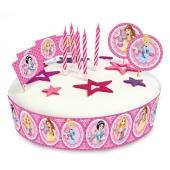 Torten Dekorations Set Disney Princess, Kuchendekoration zum Kindergeburtstag