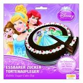 tendekoration Disney Princess Tortenaufleger zum Kindergeburtstag