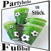 Trinkbecher Fußball