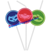 PJ Masks Trinkhalme zum Kindergeburtstag