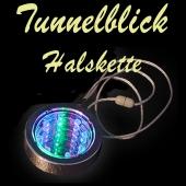 LED Halskette Tunnelblick