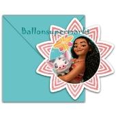 Vaiana Einladungskarten zum Kindergeburtstag