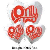 "Valentinstag Ballon-Bouquet ""Only You"""