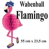 Wabenkugel Flamingo