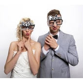 Wedding Props, Partymasken zur Bildrequisite