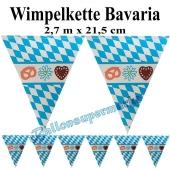 Wimpelkette Bavaria
