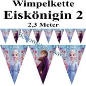Wimpelkette Eiskönigin 2, 2,3 Meter