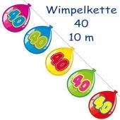Wimpelgirlande Balloonshape 40
