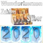 Zahlen-Wunderkerzen Silvester 2020