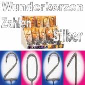 Zahlen-Wunderkerzen Silvester 2021