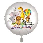 Zootiere Luftballon zum 10. Geburtstag